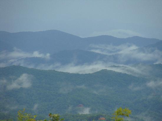 Gideon Ridge Inn: Mountain view from the Inn