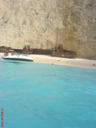 Strand von Navagio Foto
