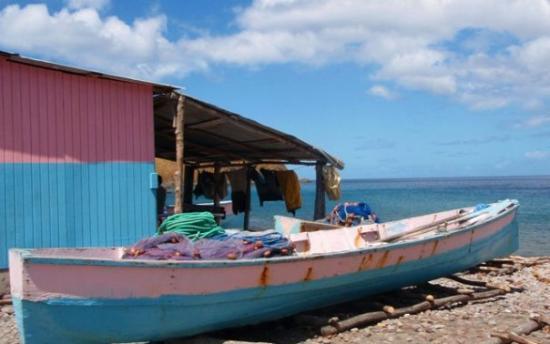 Soufriere Scottshead Marine Reserve : Scotts Head fishermen