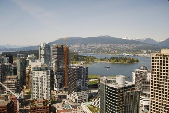 Vancouver Lookout: Vancouver from the observation tower.