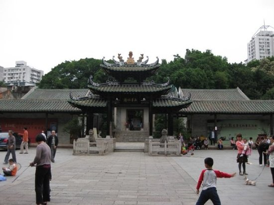 ‪Temple of the Five Immortals (Wuxian Guan)‬
