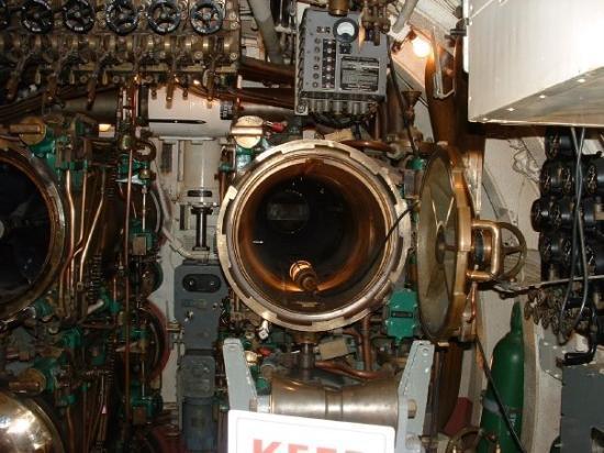 San francisco int rieur d 39 un sous marin de la deuxi me for Interieur sous marin
