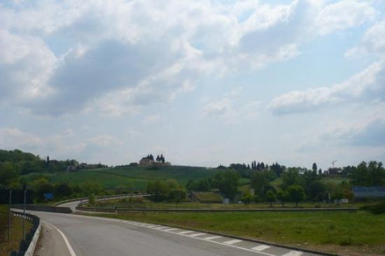 Lucignano, Ιταλία: punto di ritrovo con l'altro gruppo