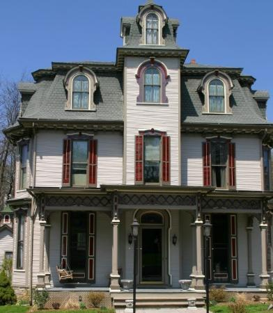 Victorian house iin Bellefonte, PA