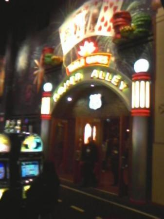 Route 66 Casino Hotel: Poker room, where I went down in flames on the third hand.