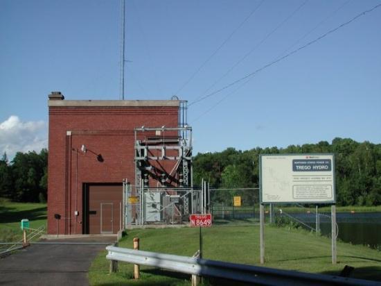 Trego Hydro Electric, Trego, Wisconsin.