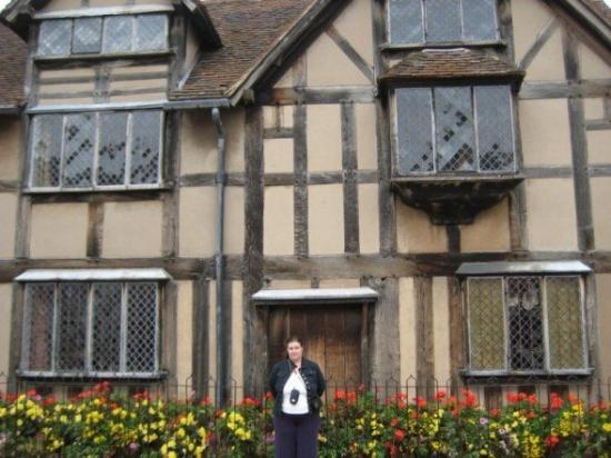 Shakespeare's Birthplace: The house Shakespeare was born in, Stratford-on-Avon, England.