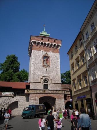 St. Florian's Gate (Brama Florianska): brama Floriańska (Florianstor)