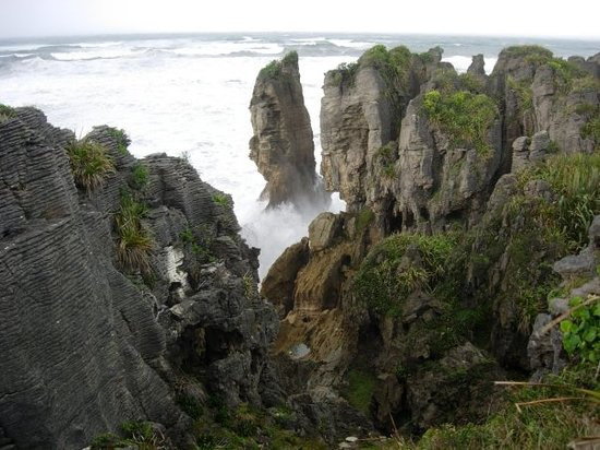 Punakaiki, Nueva Zelanda: Pancake Rocks on the West Coast