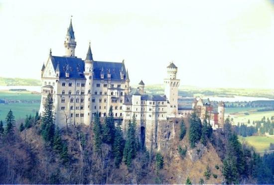 Neuschwanstein Castle The Original Cinderella Castle That