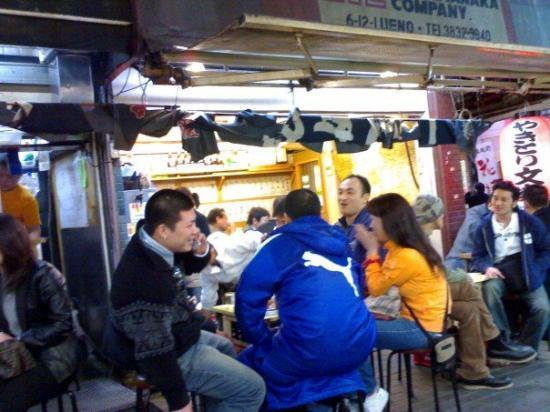 อุเอโนะ: Ueno food stall