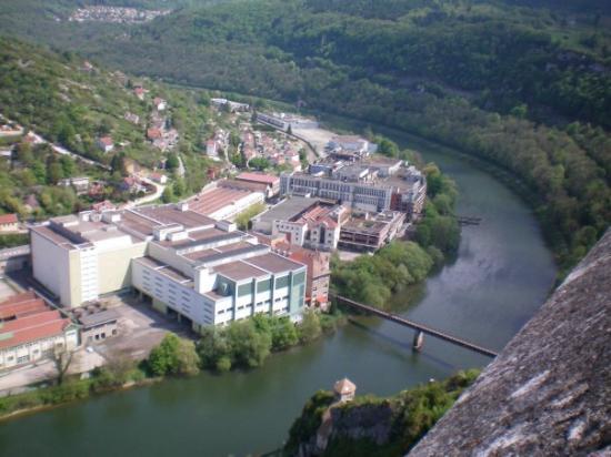 La Citadelle de Besancon: Ancienne zone industrielle de Besançon