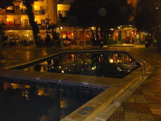Gran Hotel Flamingo: entrée de nuit