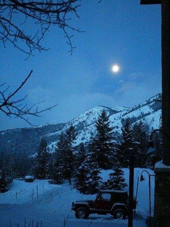 Jackson Hole Mountain Resort: Sunrise in Jackson Hole, Wyoming
