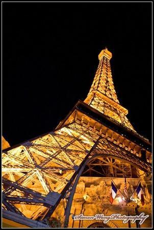 Eiffel Tower Restaurant at Paris Las Vegas ภาพถ่าย
