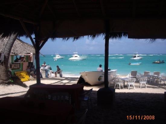 Captain Cook Restaurant : Vue du resto de fruits de mer