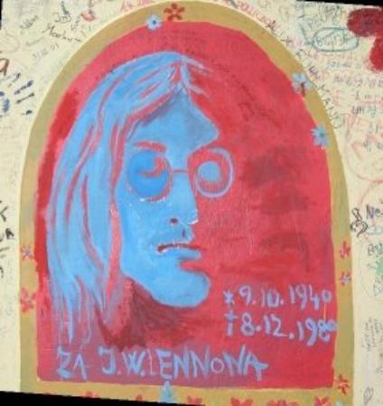 John Lennon Wall: Prague
