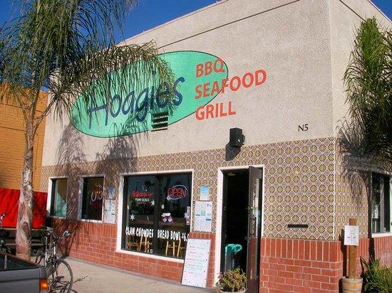 Hoagies Sandwiches & Grill : Front door to Hoagies in Pismo Beach, CA