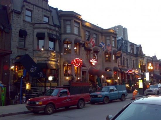Hard Rock Caf 233 Montreal Picture Of Montreal Quebec