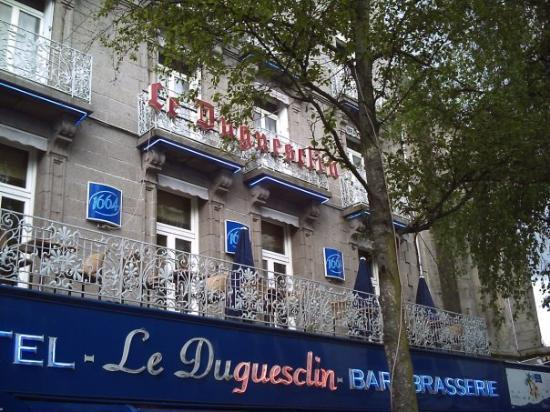 BEST WESTERN Le Duguesclin : My favourite restaurant!(The restaurant is upstairs!)