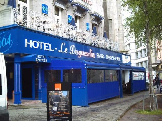 BEST WESTERN Le Duguesclin : The hotel,we have stayed at many a time and being on the main shopping street it is very convien