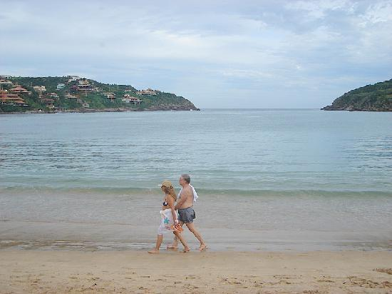 Ferradura Beach: paseando en enero por Ferradura