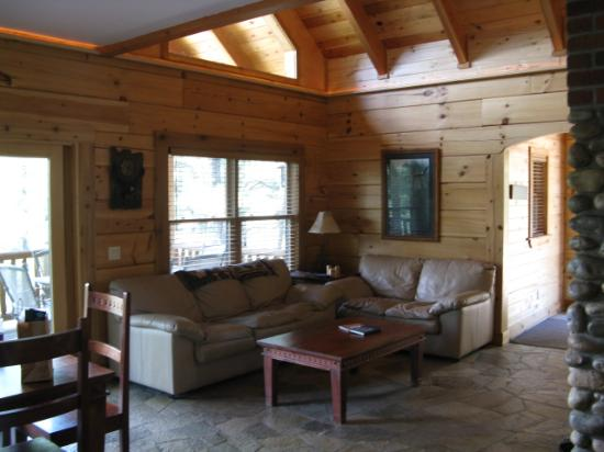 "Hart's Rocky Mountain Retreat: ""Eagles Nest"" Living room"