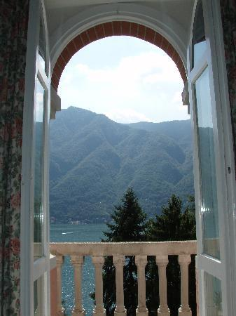 Nesso, Italia: The veiw from our room