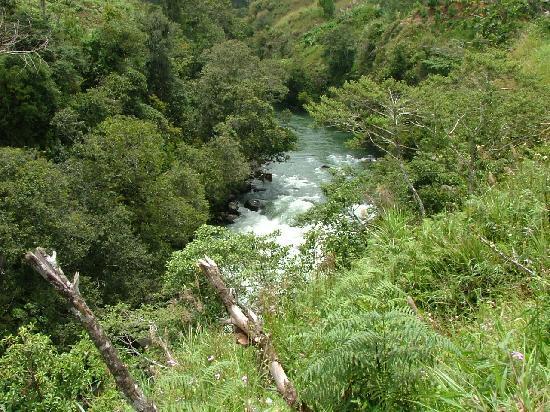 Mendi River : A shot along the road
