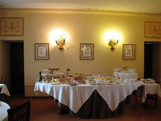 Villa Marsili : Breakfast buffet