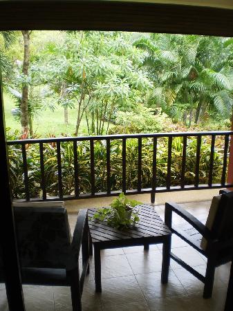 Khaolak Countryside Resort & Spa: Porch