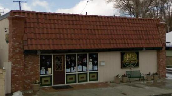 Tehachapi, Californien: storefront on Curry Street