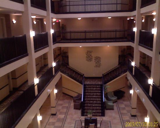 Holiday Inn Express Hotel & Suites Atlanta - Conyers: view from 3rd floor