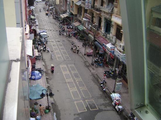Hoang Gia Huy Hotel : View from room