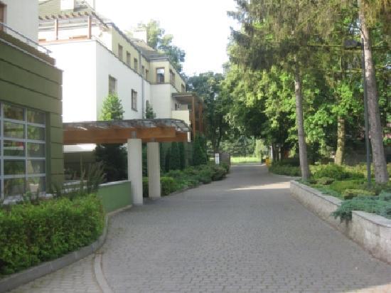 Debowa Gora: hotel view