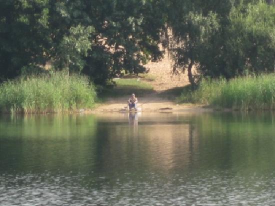 Debowa Gora: fishing place