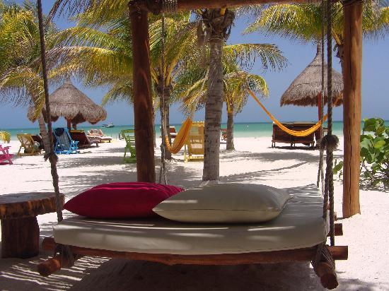 Holbox Hotel Casa las Tortugas - Petit Beach Hotel & Spa: relaxxxx