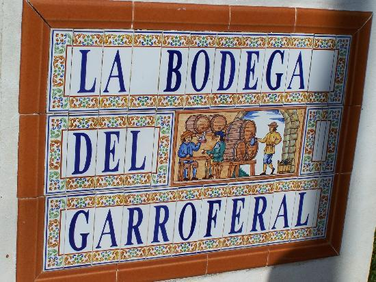 Murla, Spain: Entrance to the bodega