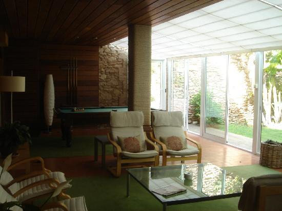 Alcanar, Spain: one of the many living rooms