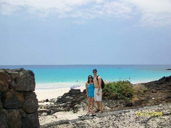 Manini'owali Beach (Kua Bay): About to head down to Kua Bay.