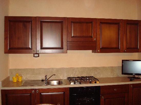 Hotel Residence Montalcino: Cucina/Kitchen