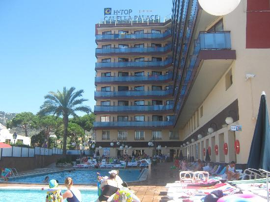H·TOP Calella Palace & SPA: view from pool