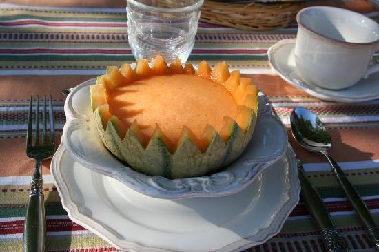 Le Mas Perreal: Melon smoothie mmmmm
