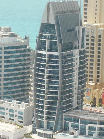 Dubai, Vereinigte Arabische Emirate: Apartment view