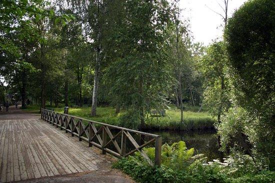 Gävle, Suède : Boulognerskogen City Park