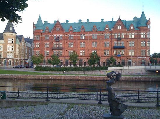 Gävle, İsveç: Gavleå River