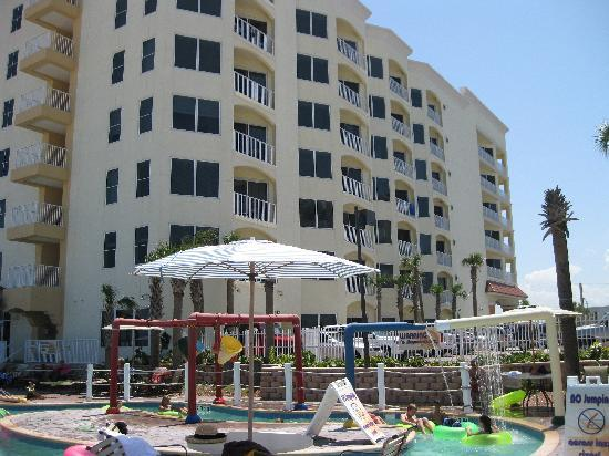 View Of South Tower From Pool Area