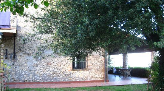 Casale Santa Brigida: Art Monastery Guesthouse: the guesthouse and porch