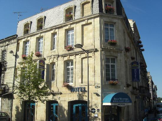 Best Western Gare Saint Jean : fachada