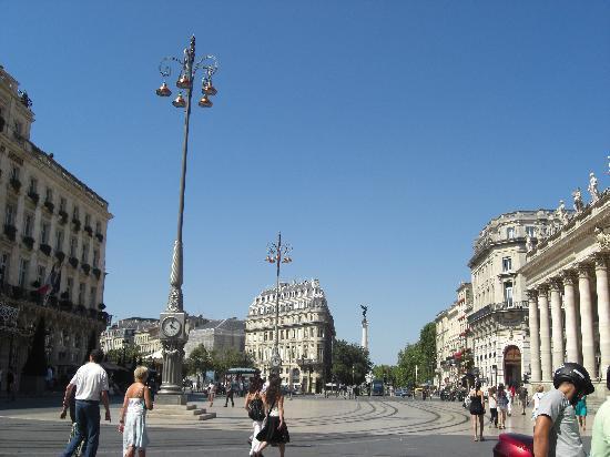 Best Western Gare Saint Jean : ciudad